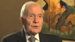 Scowcroft: 'Türkiye PKK'yla Görüşmeler Konusunda Öncülük Etmeli'