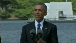 President Obama at Pearl Harbor, the fruits of peace outweigh the plunder of war