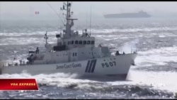 Tàu cá Bắc Hàn rượt đuổi tàu tuần duyên Nhật