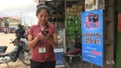 More Cambodians Use Mobile Devices to Send Money