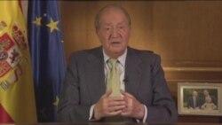 Rey Juan Carlos abdica a la corona