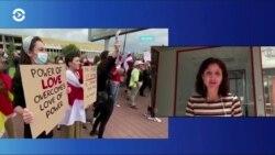 Женское лицо белорусских протестов