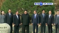 Manchetes Mundo 27 Abril: Momento histórico para as Coreias