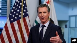 California eyaletinin Demokrat Partili Valisi Gavin Newsom