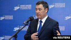Qirg'iziston rahbari Sadir Japarov