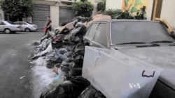 Stink Intensifies as Lebanon's Trash Crisis Continues