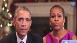 د جمهور رئیس اوباما میرمن میشل اوباما د راستنیدونکو سرتیرو خدمت د ولس وجیبه بولي