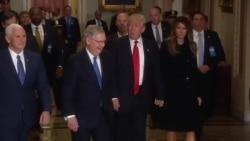 川普与国会共和党领袖规划立法议程