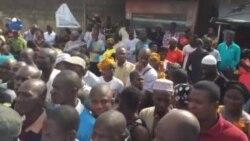 Ambiance au centre de vote de la commune d Abobo Pk18