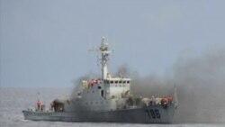 中越渔船擦枪走火 美反对双方使用武力