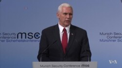 Pence Vows 'Unwavering' US Commitment to Transatlantic Alliance