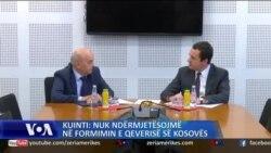Kuinti: Nuk ndërmjetësojmë në formimin e qeverisë së Kosovës