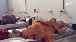 Hindistanda oksigen çatışmazlığı davam edir