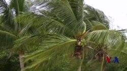 飓风马修穿过巴哈马即将进入美国佛州