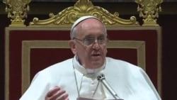 教宗方濟和樞機主教舉行會議