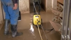Poplavljene kuće u Maglaju