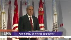 Kais Saied, élu président de la Tunisie