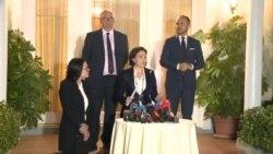 Ambasadorja Kim dhe bisedimet për reformën zgjedhore