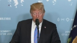 Trump: I'll be on a mission of peace