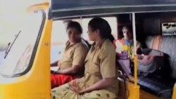 افزایش شمار زنان راننده تاکسی در هند برغم تبعیض