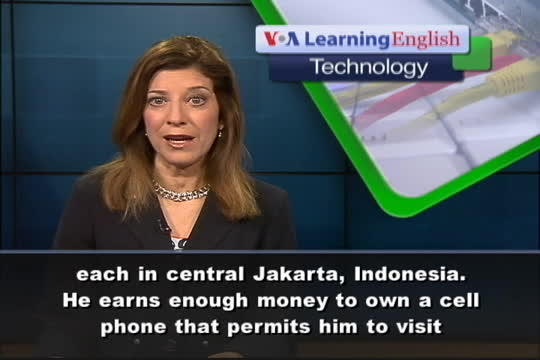 Indonesians Connect with Feature Phones