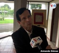 Fonseca afirma que Edén Pastora tuvo una relación turbulenta con Costa Rica. [Foto: Armando Gómez, VOA]