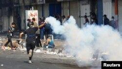 اعتراضات عراقی ها در بغداد - پنجشنبه ۲۳ آبان