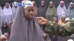 VOA60 AFIRKA: NIGERIA Wani Hoton Bidiyo Da Aka Wallafa Ranar 14 Ga Wtan Agusta, Ya Nuna Wasu Daga Cikin 'Yan Matan Chibok Na Raye