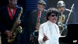 Litl Ričard nastupa na koncertu Domino Efekt u čast rokenrol legende Fetsa Domina u Nju Orleansu, 30. maja 2009. (Foto: AP)