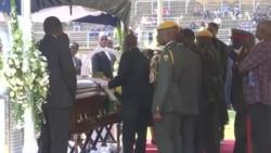 Zimbabweans Bid Farewell to Former President Robert Mugabe