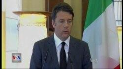 Kryeministri italian Renzi viziton Shqipërinë
