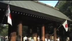 日本两阁员参拜靖国神社