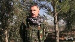 Fermandarê YPG'ê li Efrînê Ebdo Çîlo Rewşa Şer Dinirxîne