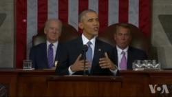 奥巴马六次国情咨文都谈中国