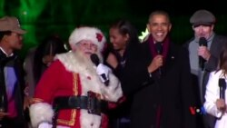 Tổng thống Obama hát 'Jingle Bell' mừng Lễ Giáng sinh
