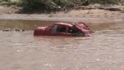 Vítimas de inundações na África do Sul não podem pedir ajuda por serem ilegais