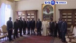 Manchetes Africanas 26 Setembro 2016: Papa conversou com Joseph Kabila