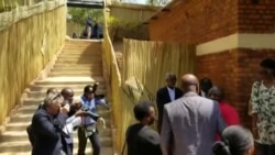 Perezida Paul Kagame amaze gutora mu kagari ka Kiyovu.