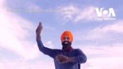Канадець відсвяткував вакцинацію від Covid-19 танцем на замерзлому озері. Відео