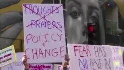 تظاهرات دوباره هزاران دانش آموز در اعتراض به قوانین فروش و حمل سلاح در آمریکا
