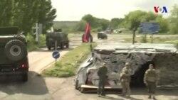 Şərqi Ukraynada atəşkəsin pozulması halları artıb