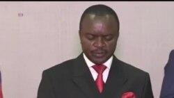2014-01-12 美國之音視頻新聞: 中非臨時領袖呼籲國民冷靜