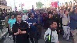 فریاد متحد هزاران کارگر در مرکز شهر اهواز: هیهات منالذله