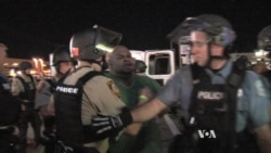 Unrest Marks Anniversary in Ferguson, Missouri