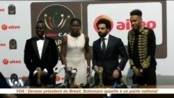 La CAF dévoile l'identité des 3 finalistes pour le titre de ballon d'or africain 2018