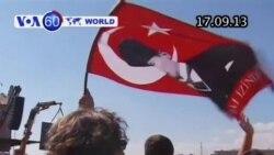 Người Syria tự chế mặt nạ chống độc (VOA60)