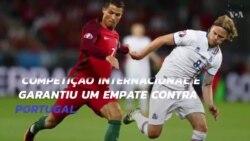 Euro 2016: Portugal empatou com Islândia em jogo de estreia