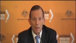 澳大利亞總理說相信水下信號來自失蹤客機黑盒