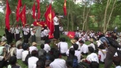 Students Stage Rare, Risky Protest in Myanmar's Capital