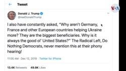 Trump, pendiente del proceso de 'impeachment'